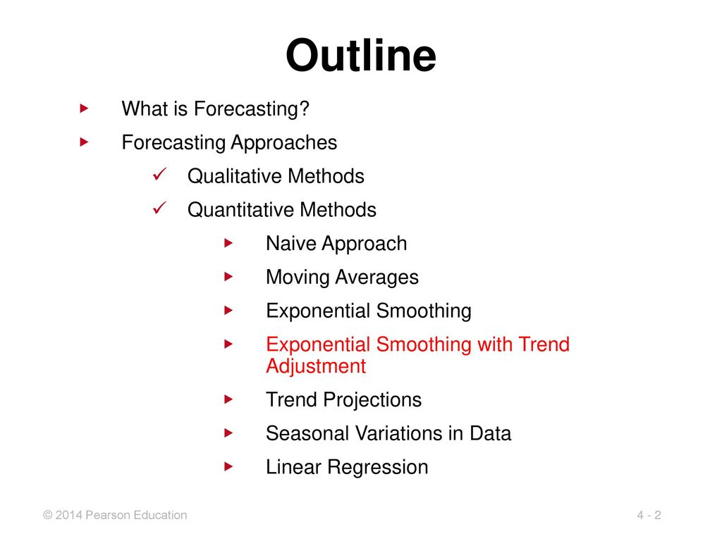 4 Forecasting Demand PowerPoint presentation to accompany