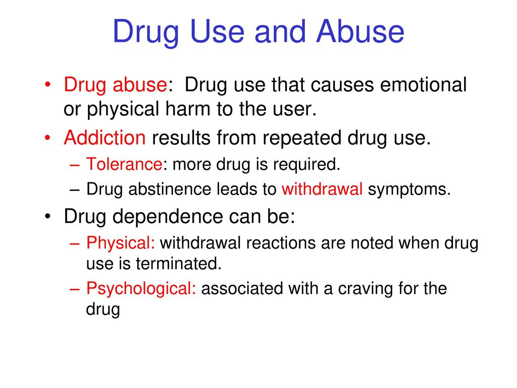 Drugs and Consciousness - ppt download