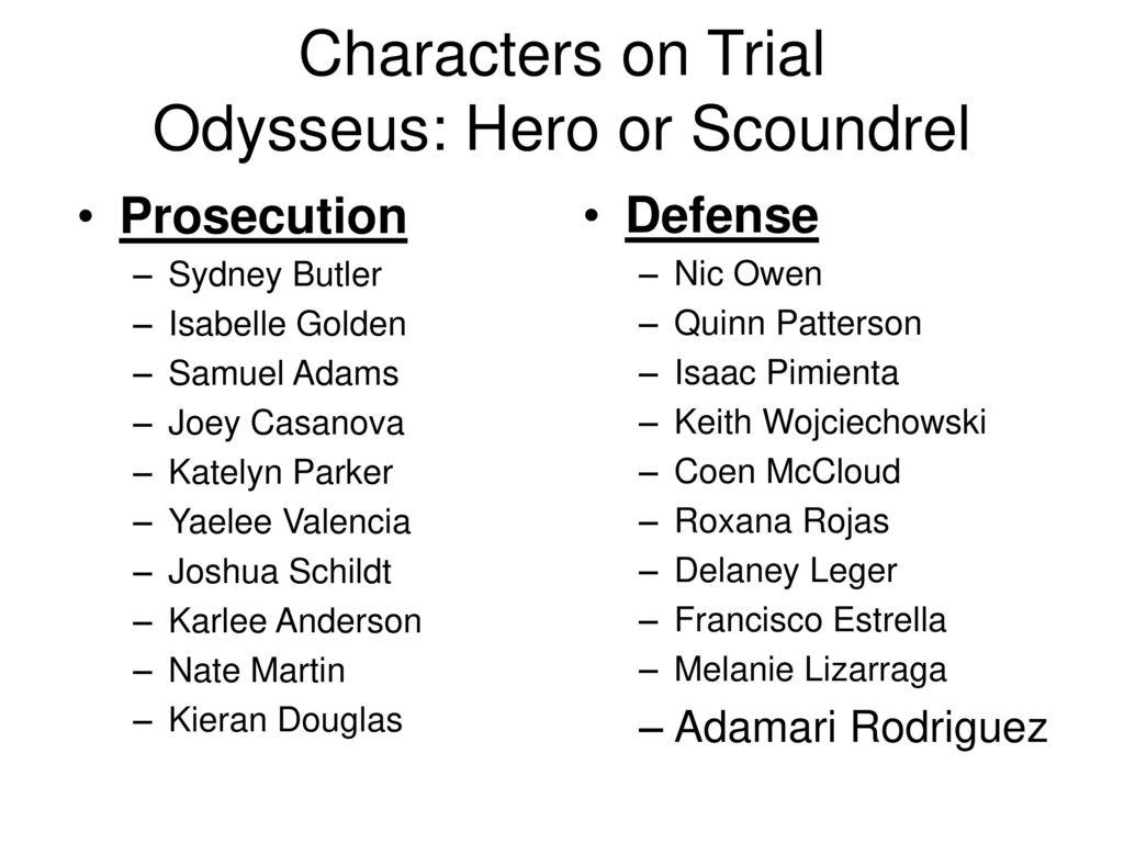 what qualities make odysseus a hero
