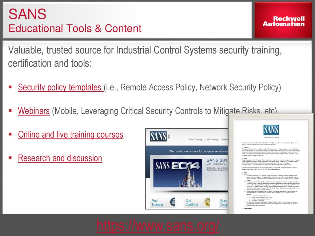 Understanding Network Security Using Stratix Switches - ppt download