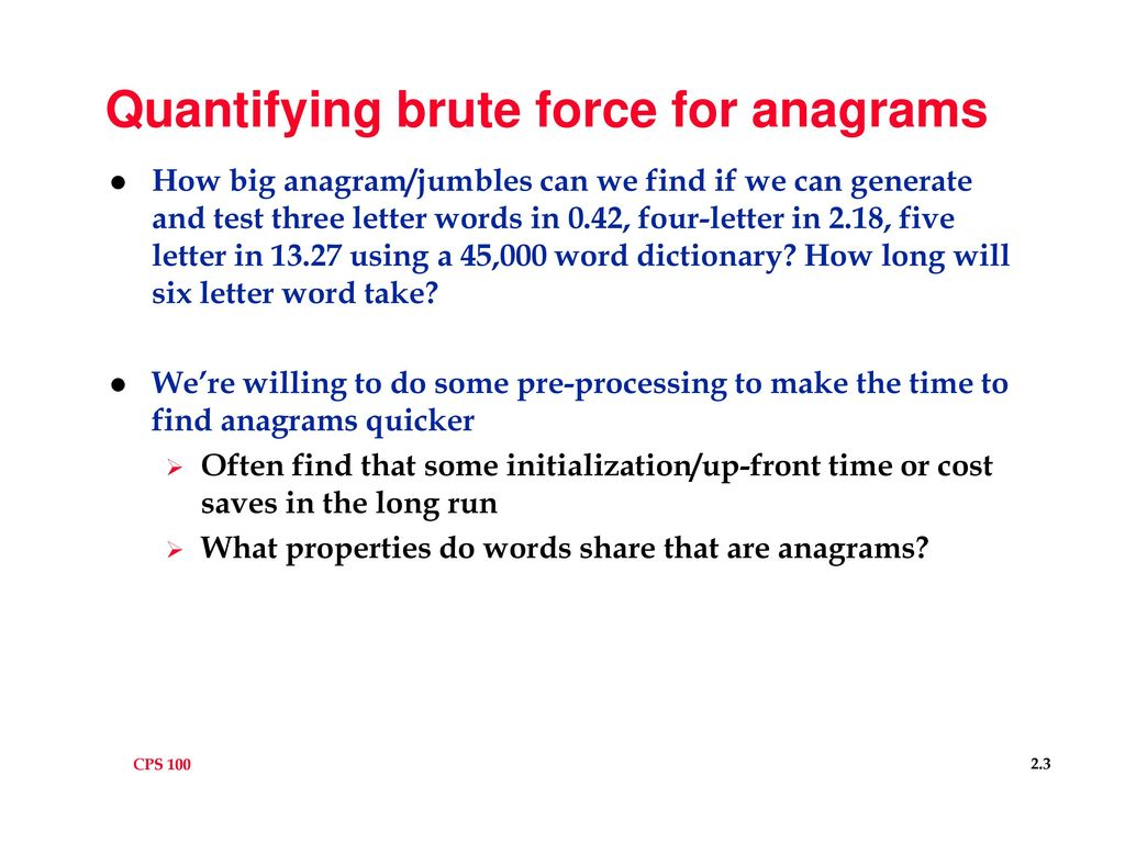 Anagramsjumbles How Do Humans Solve Puzzles Like That At Ppt Download