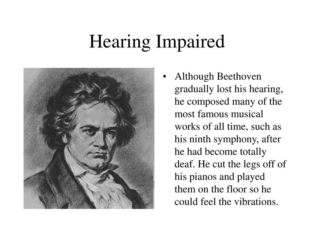 was beethoven deaf when he wrote the 9th symphony