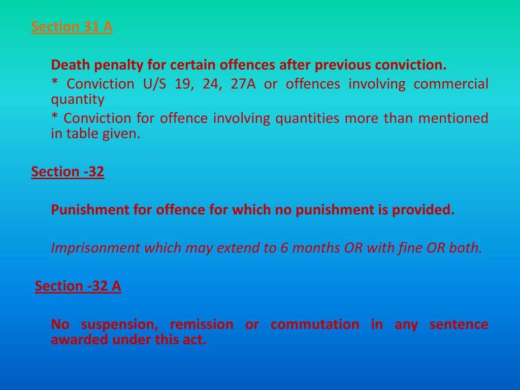 suspension remission and commutation of sentences