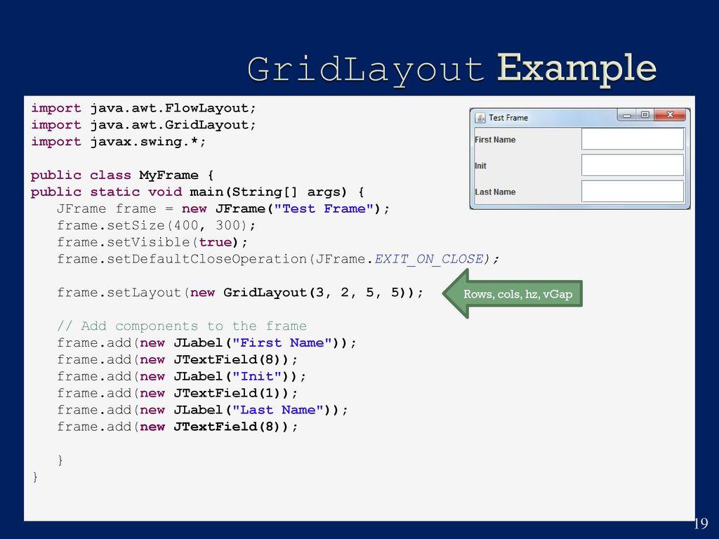 Chapter 14 GUI Basics  - ppt download