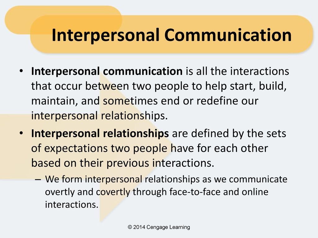 chapter 7: interpersonal relationships - ppt download