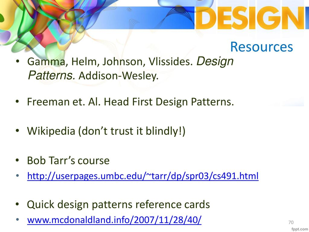 Head First Design Patterns Simple Decorating Ideas