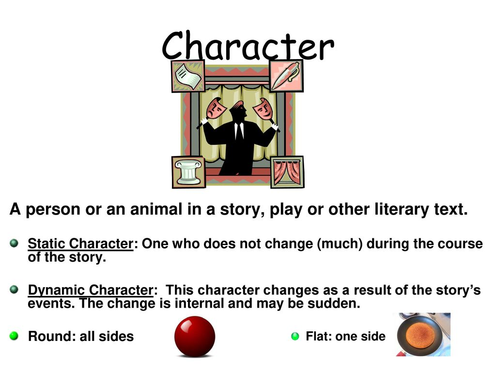 what is a dynamic character in a play