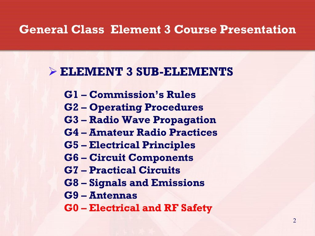 General Licensing Class Ppt Download Electrical Principles Circuits 2