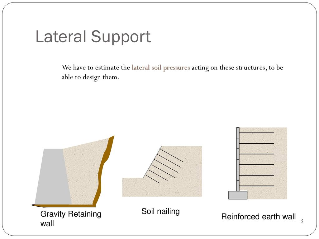 RETAINING WALL  - ppt download