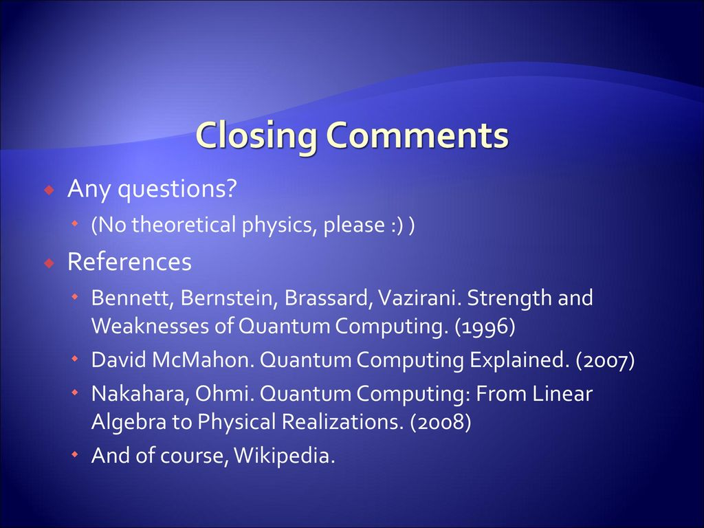 Quantum computING & CRYPTOLOGY - ppt download