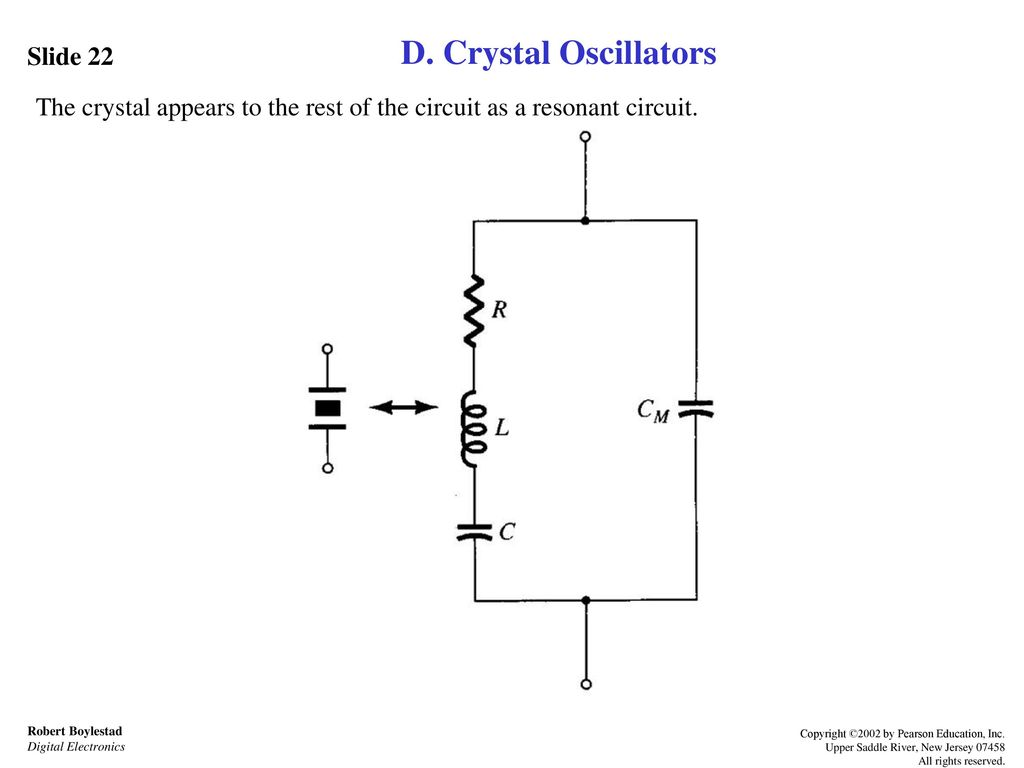 Feedback And Oscillator Circuits Ppt Download Element Crystal Circuit Colpitts D Oscillators Slide 22