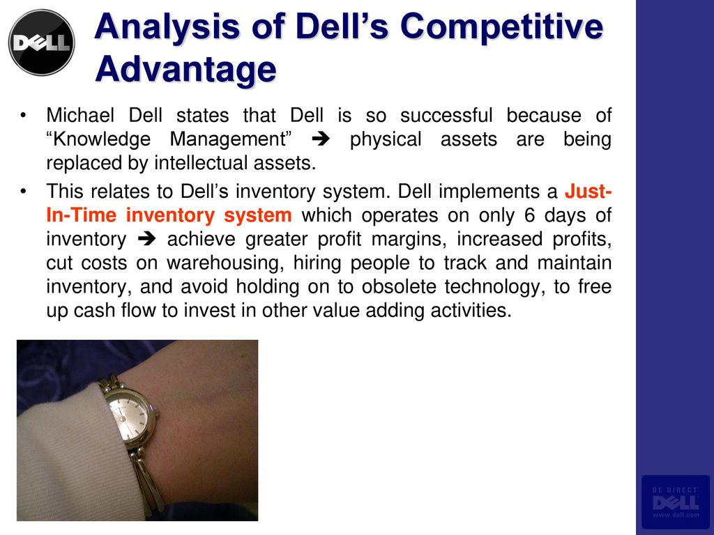 dell just in time system