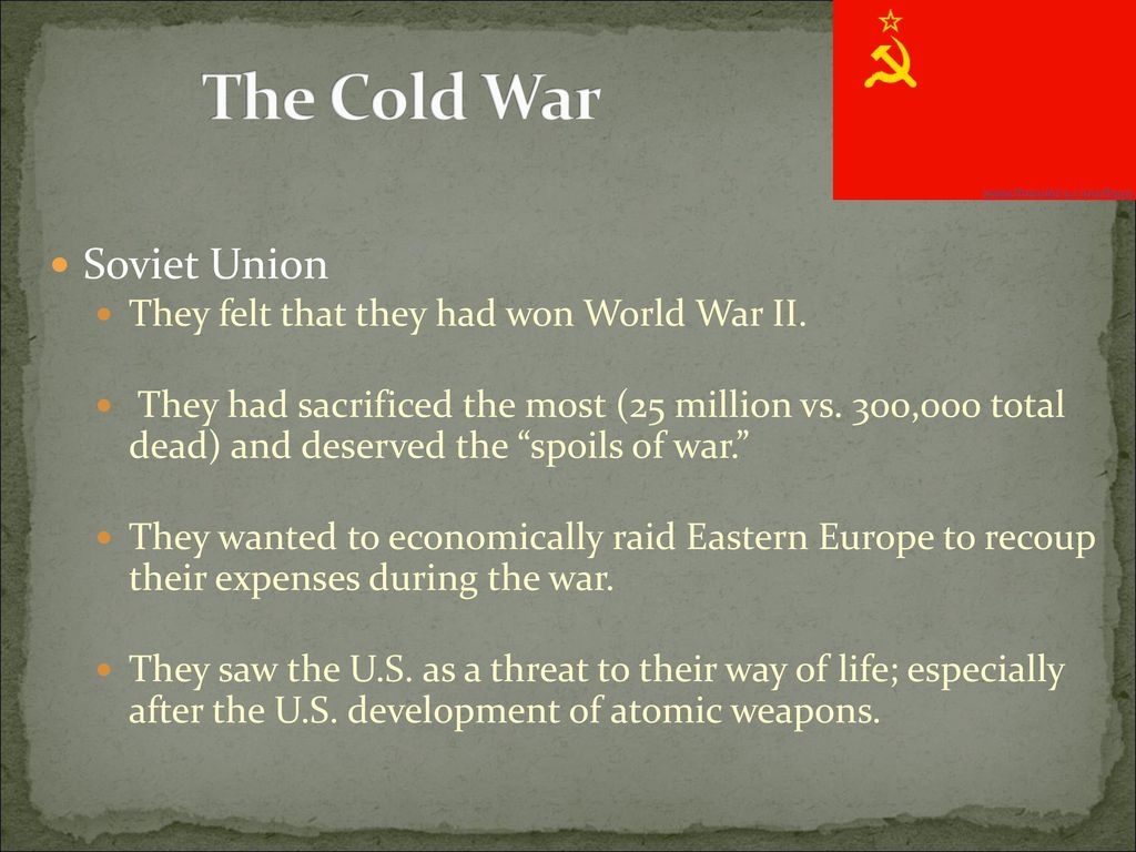 End of World War 2 and Origins of the Cold War - ppt download