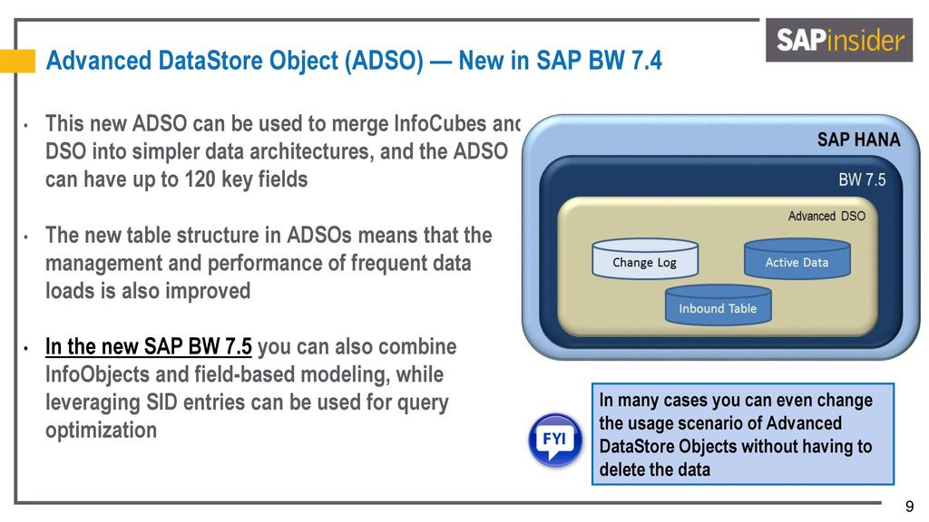 How to Upgrade to SAP BW 7 5 on SAP HANA — Potential