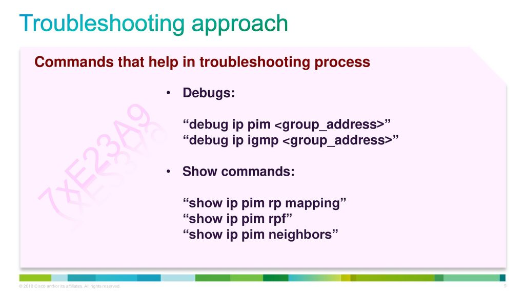 Troubleshooting High CPU due to Multicast - ppt download