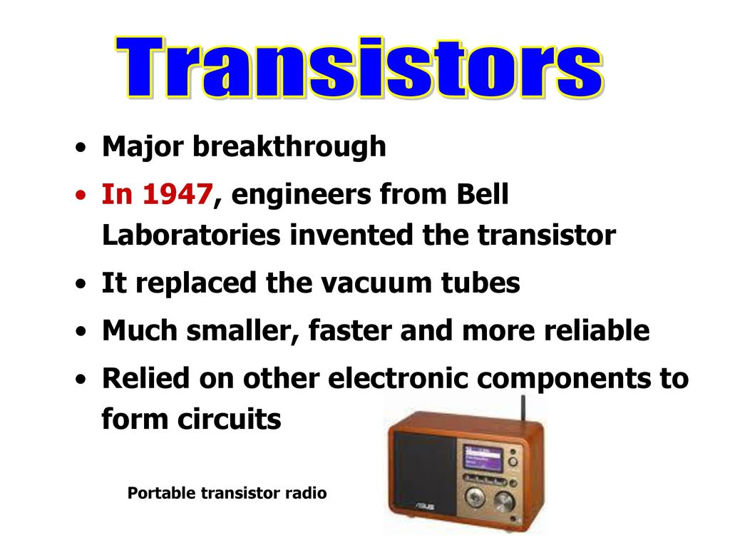History Of Computers Abacus 1100 Bc Ppt Download Electronic Bell Circuit 12 Portable Transistor Radio