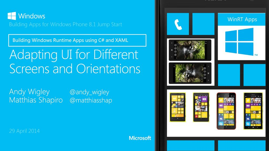 Adapting UI for Different Screens and Orientations - ppt download