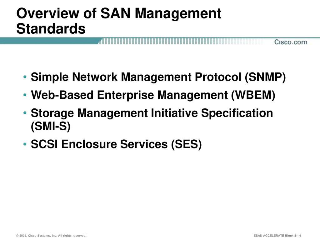 SAN Management Technologies - ppt download