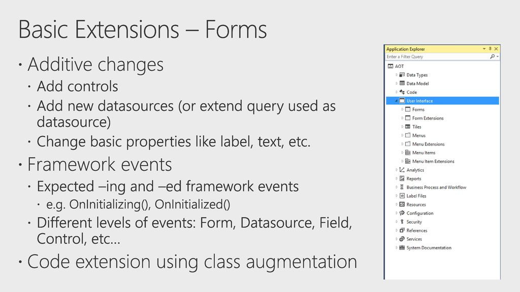 Extend Microsoft Dynamics 365 for Finance and Operations - ppt download
