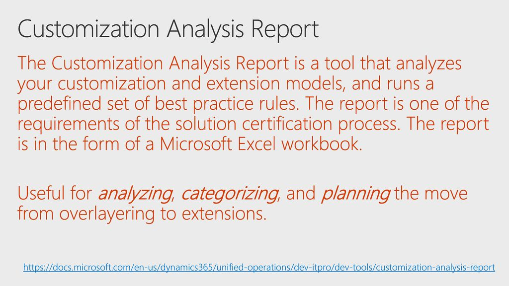 Extend Microsoft Dynamics 365 for Finance and Operations