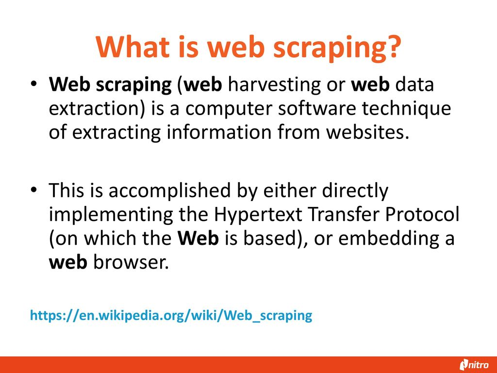Web Scraping with Scrapy - ppt download