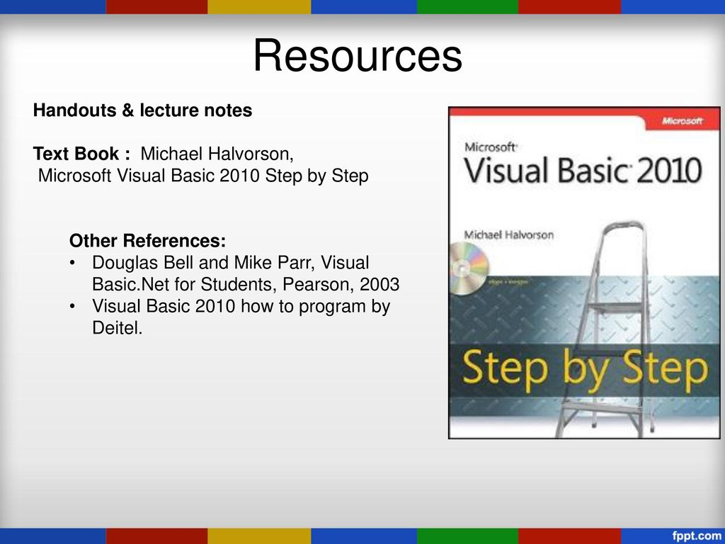 Visual Basic 2010 Book