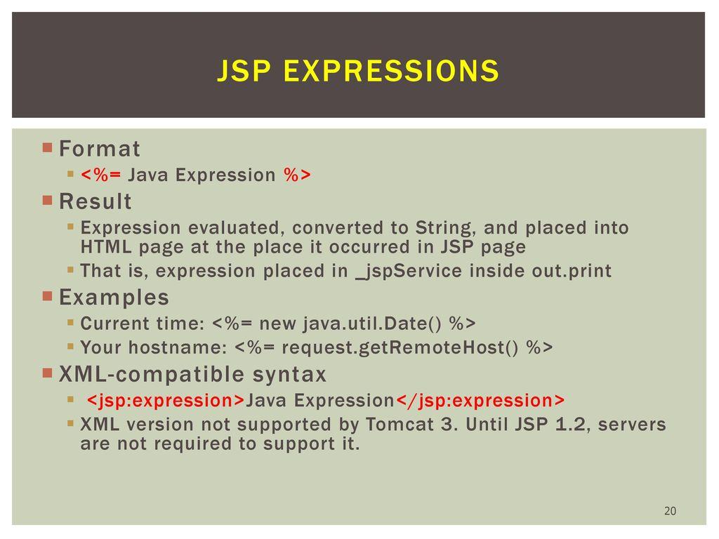 Web Application: Java Server Pages (JSP) - ppt download