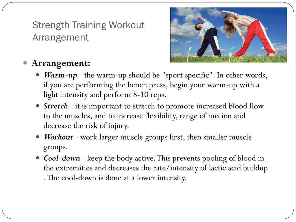 Strength and Conditioning - ppt download