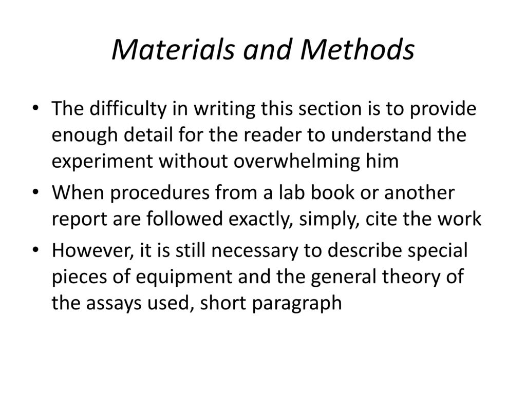 Scientific lab reports ppt download 11 materials ccuart Gallery