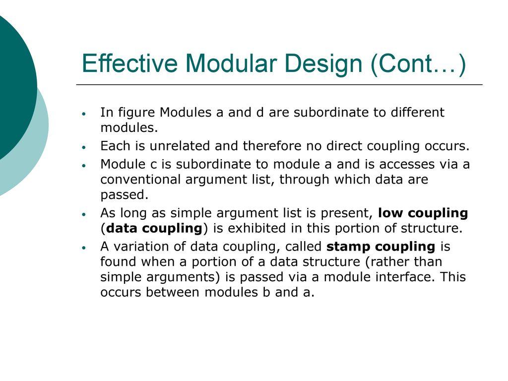 Effective Modular Design Ppt Download
