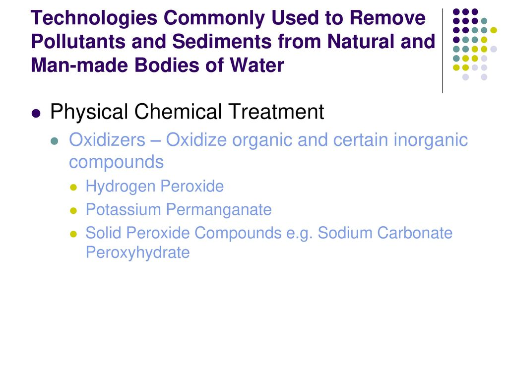 Use of Bioremediation in the Treatment of Natural and Man-made