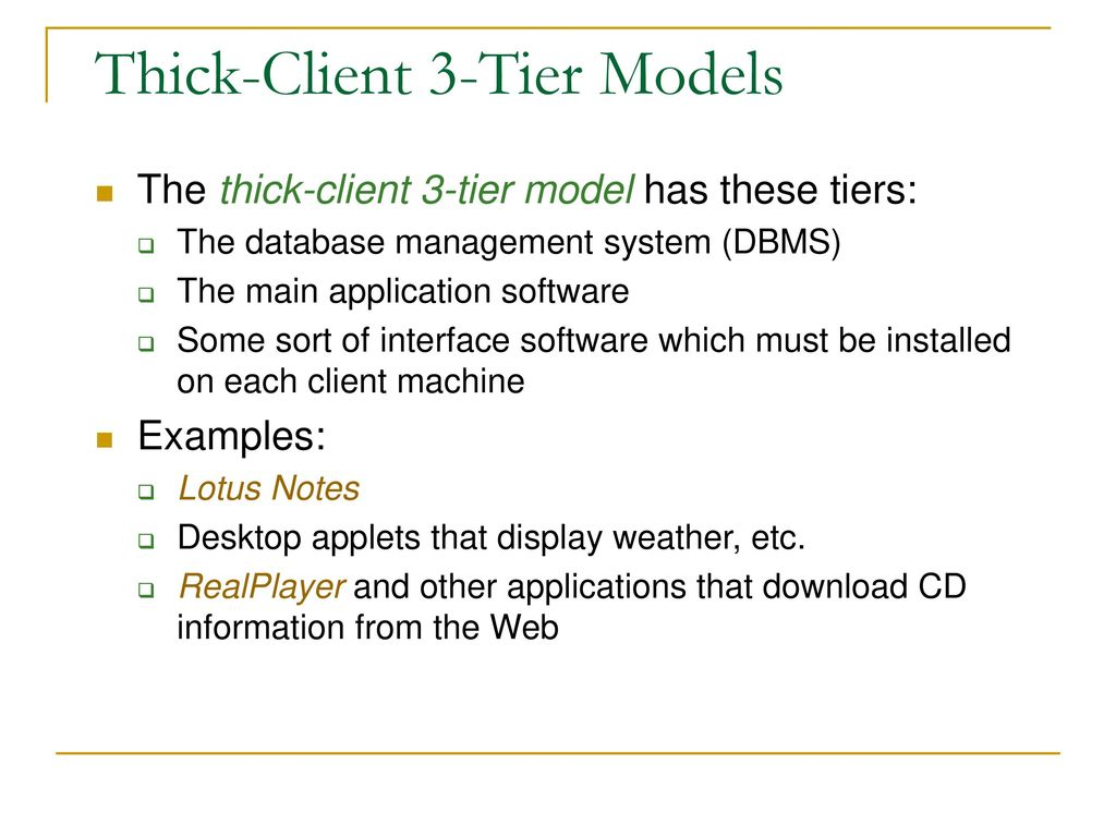 MVC and other n-tier Architectures - ppt download
