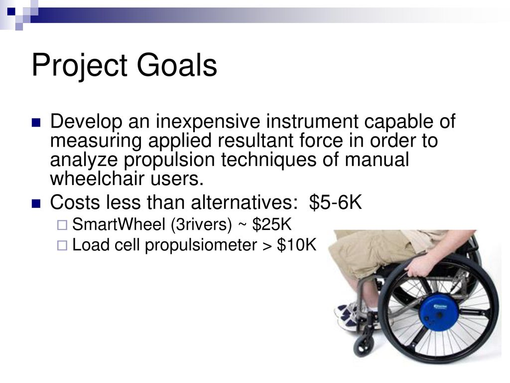 For Wheelchair Propulsion Assessment Ppt Download