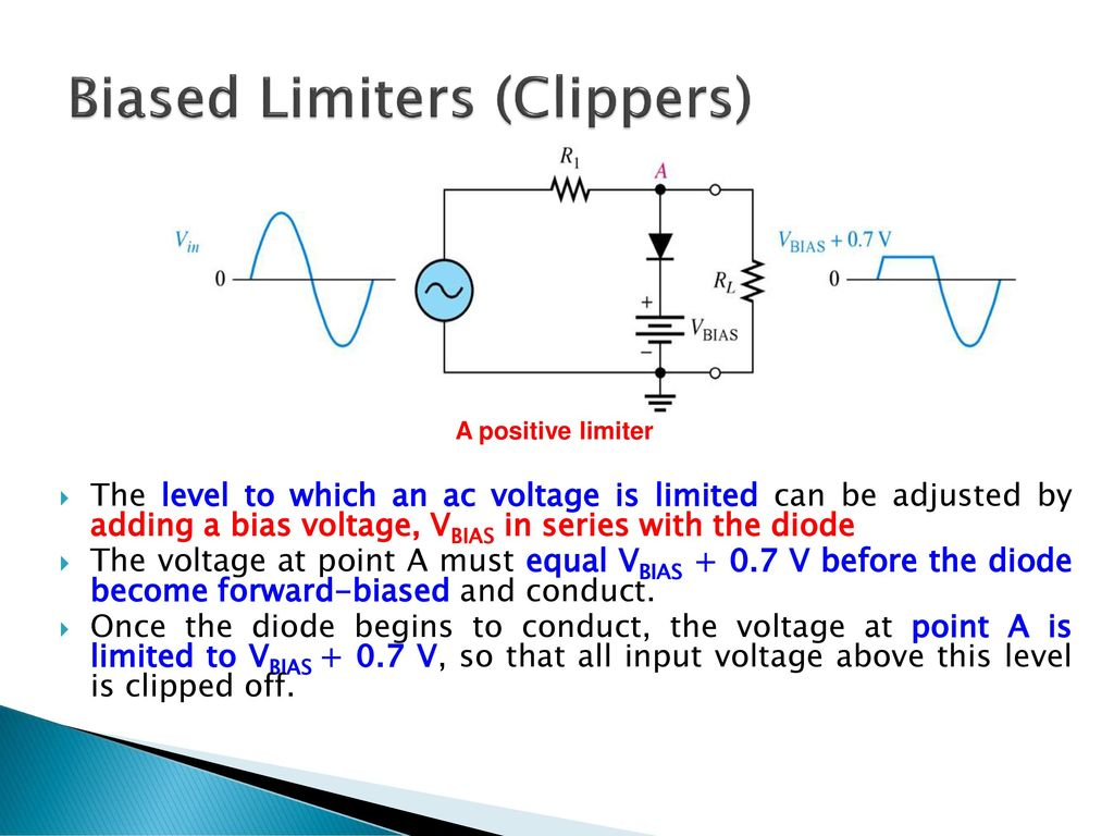 Chapter 2 Diode Applications Ppt Download Once The Bias Is Set This Circuit Will Supply A Constant Current To 40 Biased