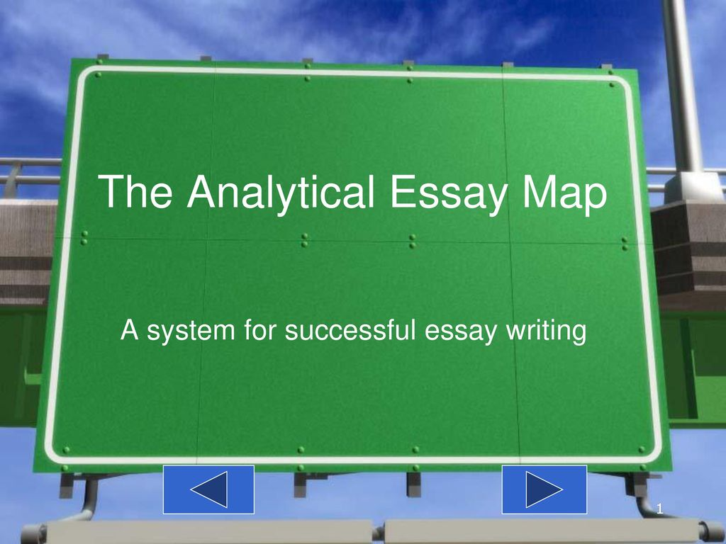Business Essays Samples The Analytical Essay Map Sample Thesis Essay also Proposal Essays The Analytical Essay Map  Ppt Download English Example Essay