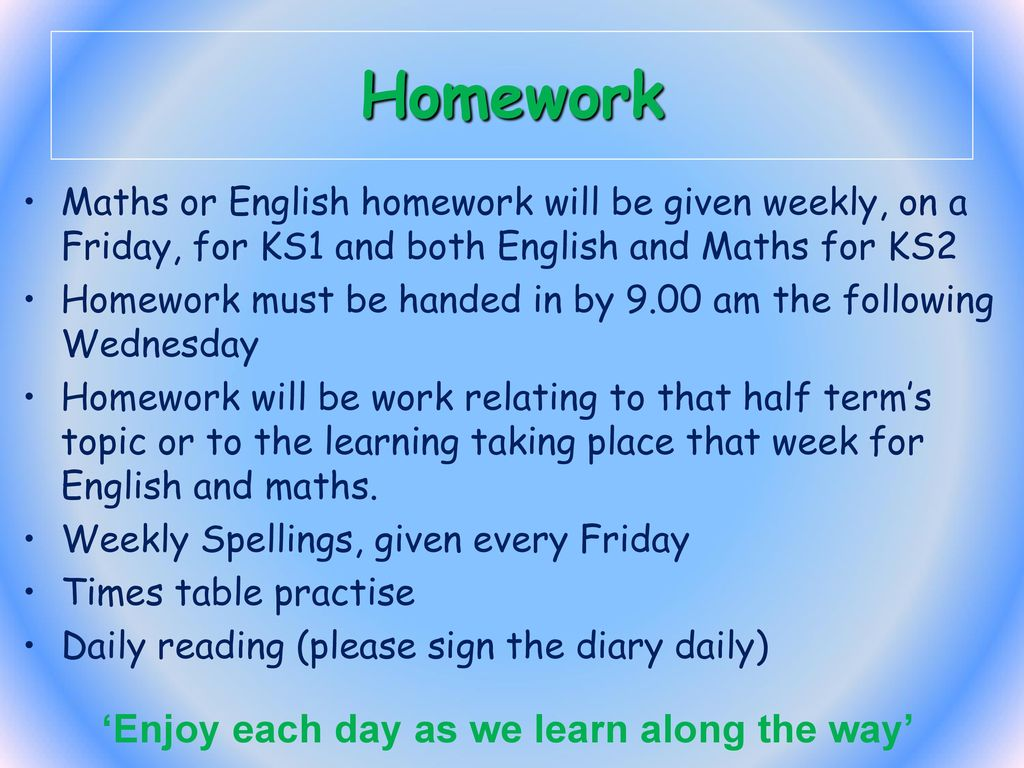 Welcome to KS2 \'Enjoy each day as we learn along the way\' - ppt download