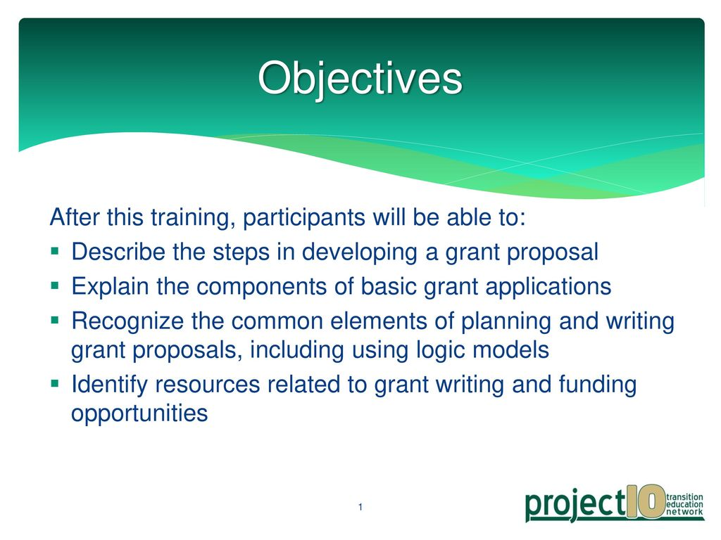 An Introduction to Successful Grant Writing - ppt download