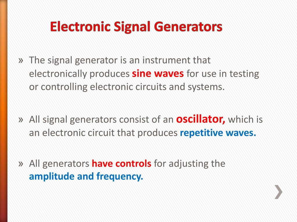 Alternating Current And Voltage Ppt Download Square Pulse Generator Circuit Diagram Electronic Signal Generators