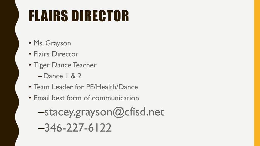 Tryout Information  - ppt download