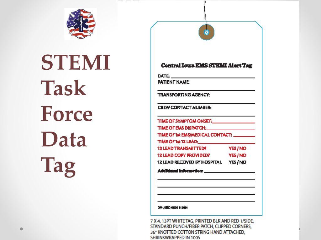 Metro STEMI Task Force The Central Iowa EMS Directors STEMI