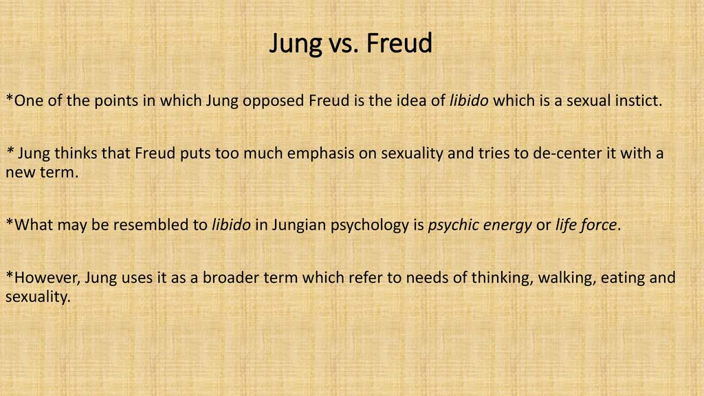 freud vs jung 2 essay Freud and jung the reasons for their separation 2 i am roberto lima netto and i believe that our objective in life is to be happy, and that spirituality and jungian psychology, my main areas of interest, can help us in this search for happiness.
