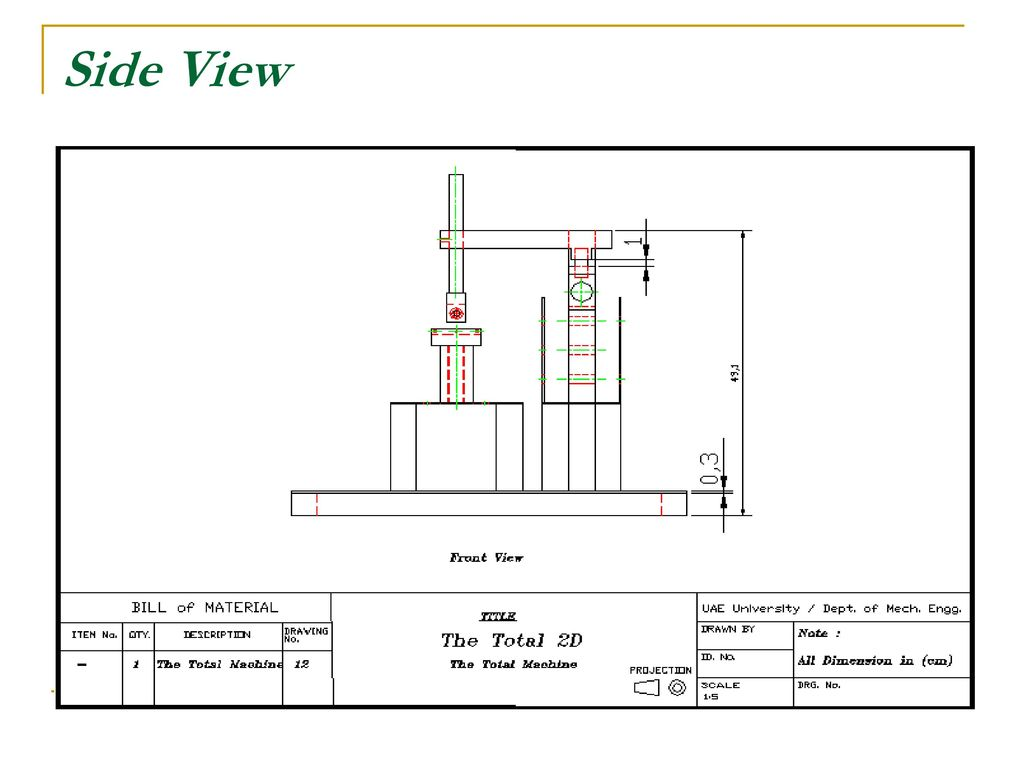 Tribology Testing Machine Ppt Download Electrical Engineering Plan Uaeu 60 Side View