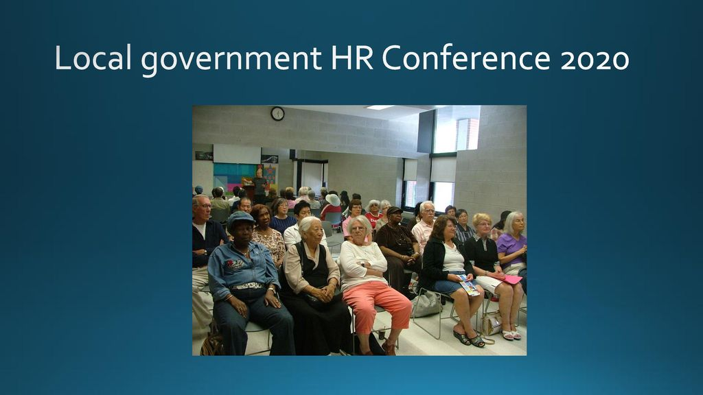 Ageing Workforce in Local Government - ppt download