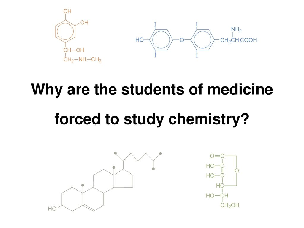 Medical Chemistry (1st year) Lecture I - ppt download