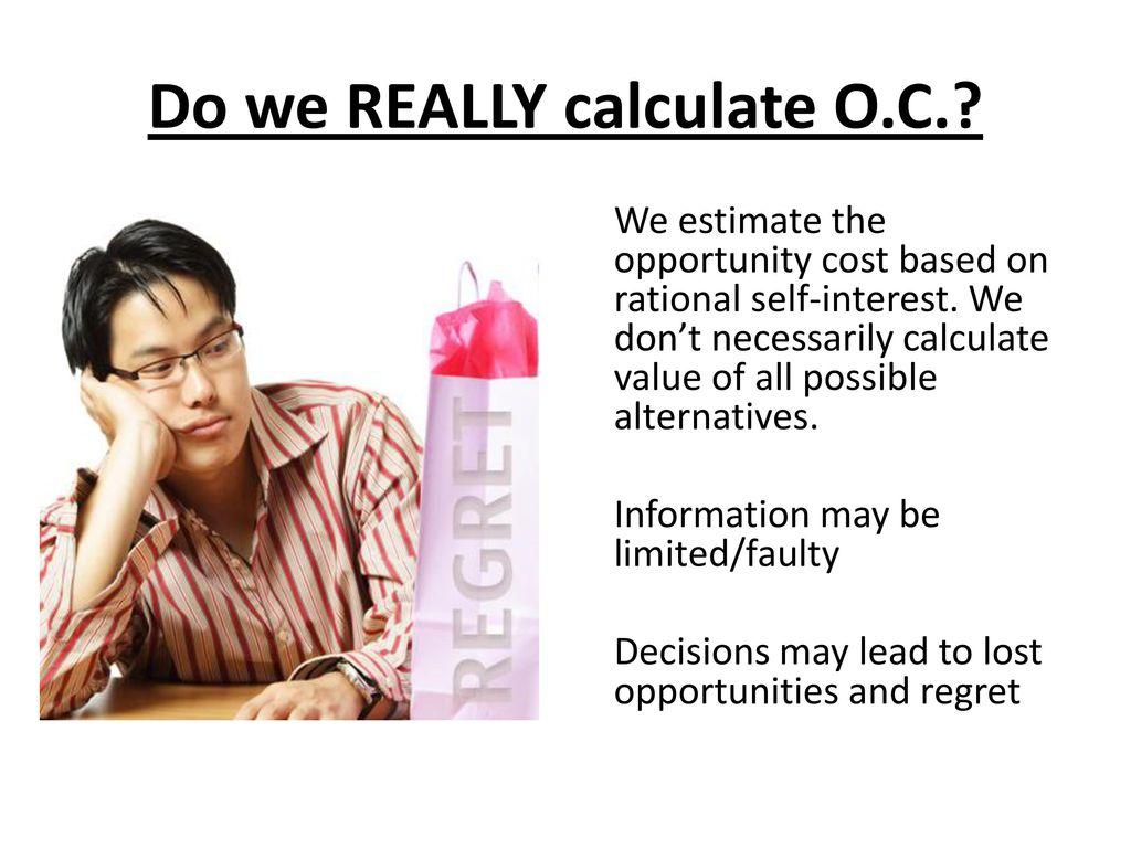 Lost opportunity cost calculator
