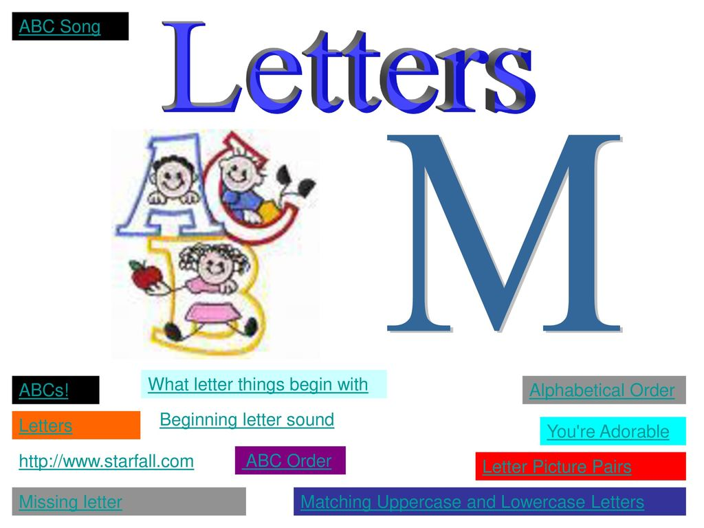 With m letter starting things All 5