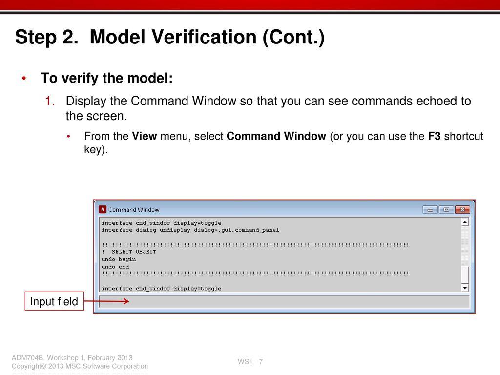 Workshop 1 understanding the command language - ppt download