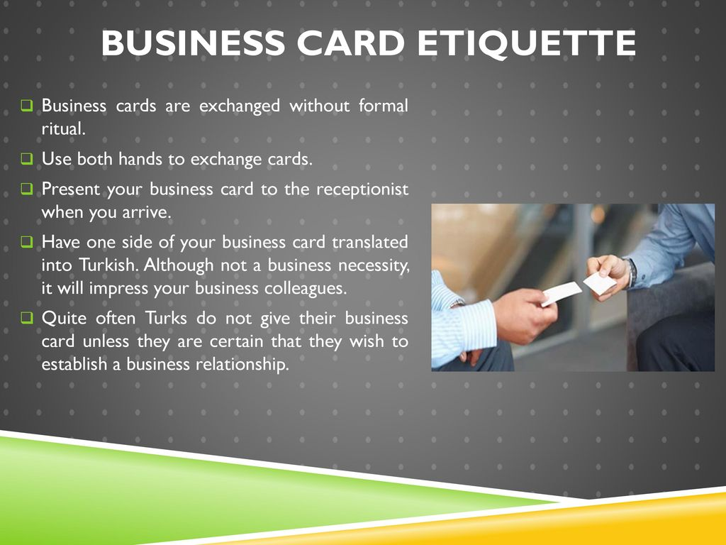 Etiquette & Customs in Turkey - ppt download