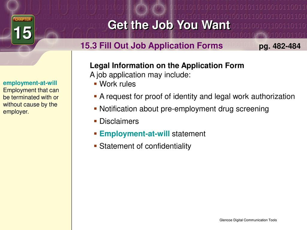 15 Get the Job You Want Chapter Contents pg - ppt download