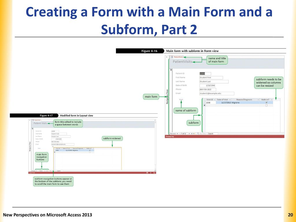 Access Tutorial 4 Creating Forms and Reports - ppt download